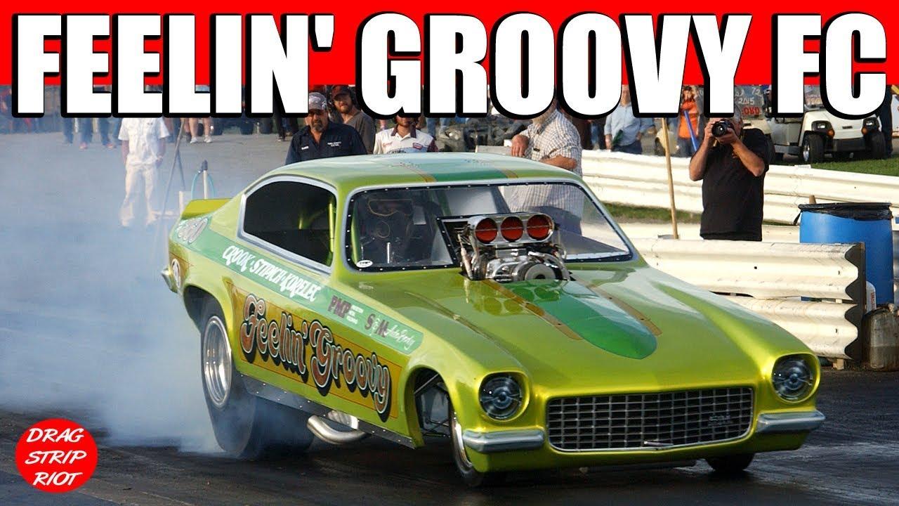 2015 Nostalgia Nationals Funny Car 1/4 Mile Drag Racing Vega Feelin ...