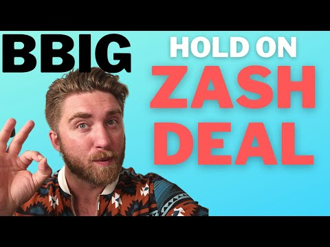 🔴 BBIG BIG HOLD ON! 🚀 VINCO VENTURES TYDE STOCK ZASH DEAL
