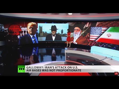 Iran's attack on US airbases not 'proportionate' – Galloway