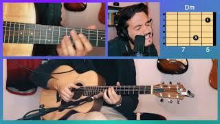 Cómo tocar Bajo La Mesa - Morat y Sebastián Yatra en Guitarra | TUTORIAL ACORDES