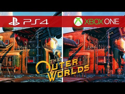 The Outer Worlds Comparison - Xbox One vs. Xbox One S vs. Xbox One X vs. PS4 vs. PS4 Pro