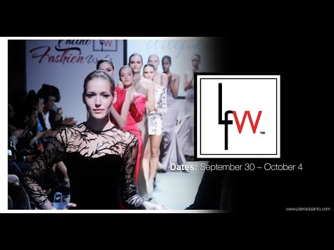 Latino Fashion Week  Week CHICAGO Octubre 2015