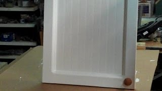 Making $10 Cabinet Doors