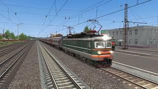 Запуск ЧС2 в Train Simulator 2017