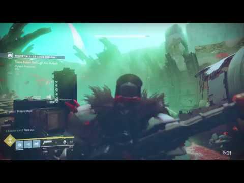 Destiny 2 - Prestige Nightfall Bugged (Exodus Crash, No Arc Pulses Objective Appearing)