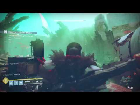 Destiny 2 - Prestige Nightfall Bugged (Exodus Crash, No Arc Pulses Objective Appearing)