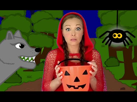 Halloween Songs for Children and Kids - Ten Scary Steps