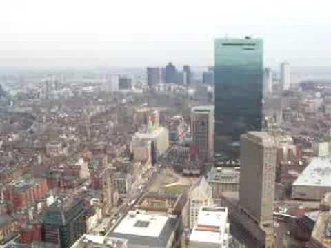 Prudential Tower - Boston Downtown Landscape - Skywalk