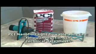 Укладка плитки в ванной комнате - PCI