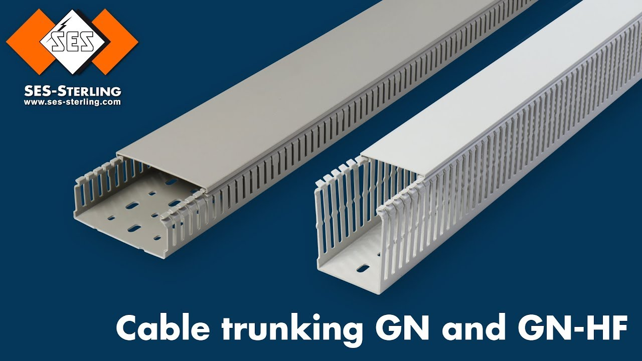 Cable Trunking Gn Pvc Or Gn Hf Pc Abs Halogen Free
