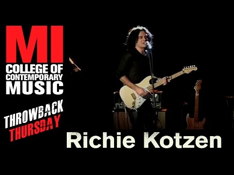 Richie Kotzen Throwback Thursday From the MI Vault 11/16/2006