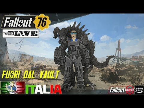 [PC] Fallout 76☢ [RTX 2080 TI] Livestreaming – Multiplayer PvP + Storia – Gameplay ITA thumbnail