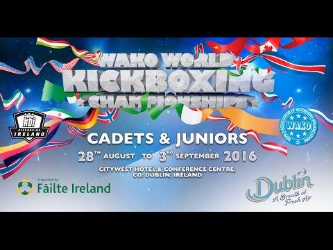 Tatami 6&8 WAKO World Championships 2016 Day 1