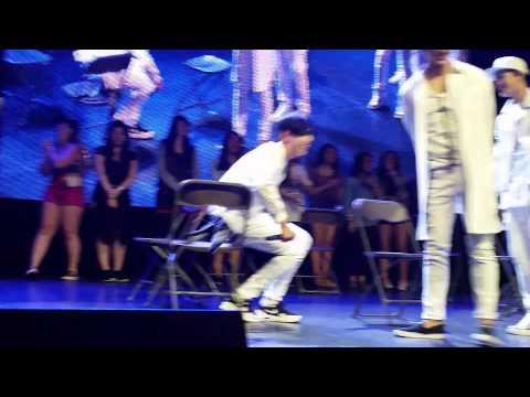Got7 Bam Bam & JB sexy weird chair dancing