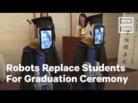 Students In Japan Attend Graduation Via Robot | NowThis