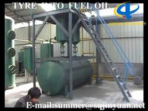 TYRE INTO FUEL OIL