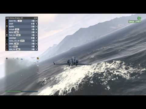 Grand Theft Auto V - How to land a Luxor on a Yacht