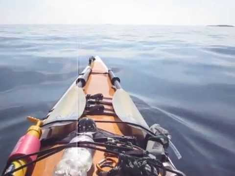 Kayaking in Lake Superior Provincial Park