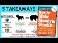 HOW TO MAKE MONEY IN STOCKS SUMMARY (BY WILLIAM O' NEIL)