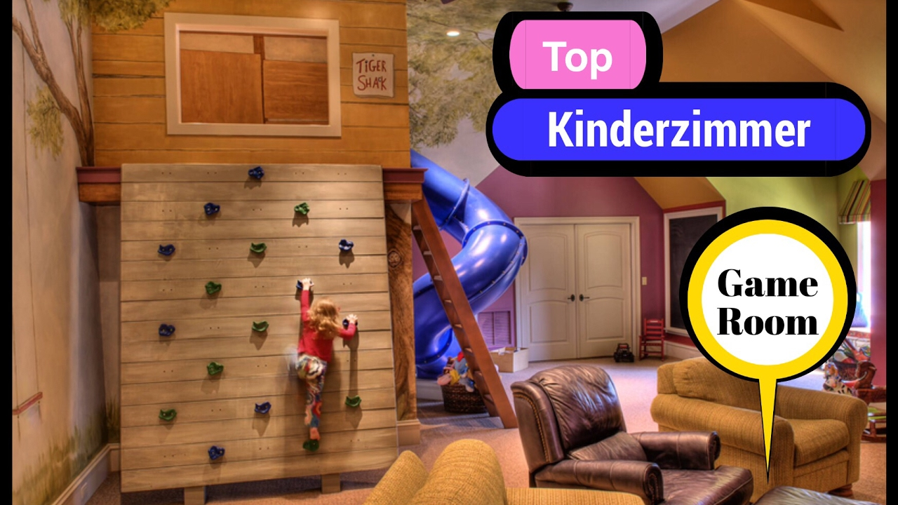 top kinderzimmer tr umen games room youtube. Black Bedroom Furniture Sets. Home Design Ideas