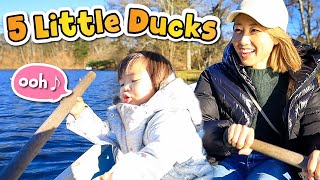 英語で歌おう!親子で楽しい英会話☆「Five Little Ducks