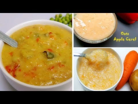 BABY FOOD || 3 Healthy Lunch recipes for 9 months + babies