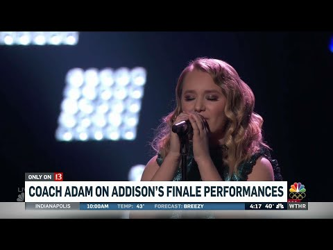 Coach Adam on Addisons finale performance