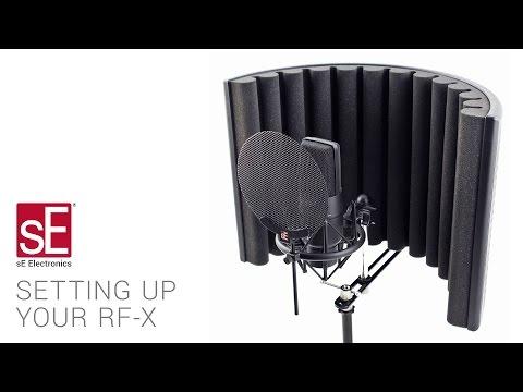 sE Electronics RF-X Setup Video