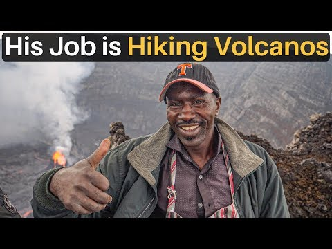 His Job is Hiking Volcanoes (making $4/day)