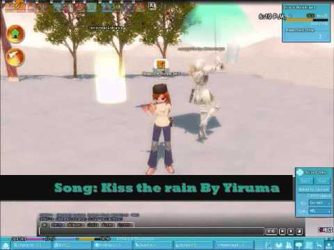 Mabinogi Music (Rank F music playing)
