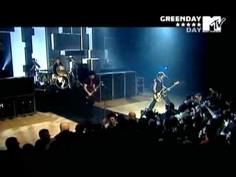 Green Day - I Fought The Law - Subtitulada - MTV Supersonic 2005
