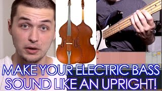 5 Ways to Make Your Electric Bass Sound Like an Upright - [ AN's Bass Lessons #2 ]