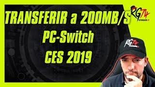 Enviando juegos a la switch a 200 Megas por segundo. CES 2019 SONY PS5. RTX.