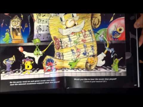 Music Books For Children - Grand Staff And His Musical Friends