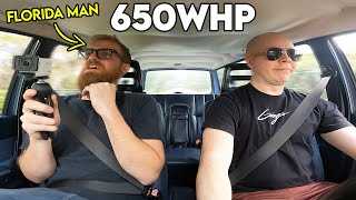 homepage tile video photo for FLORIDA MAN Experiences REAL POWER For the First Time... (650whp Sleeper)