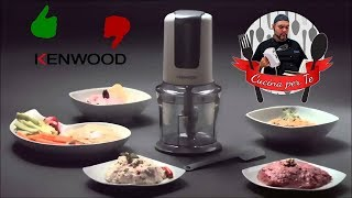 Tritatutto Kenwood CH580 - la video Recensione