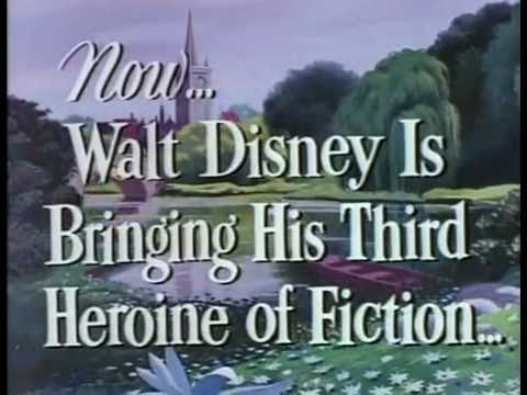 Alice in Wonderland | Disney 1951 Trailer poster