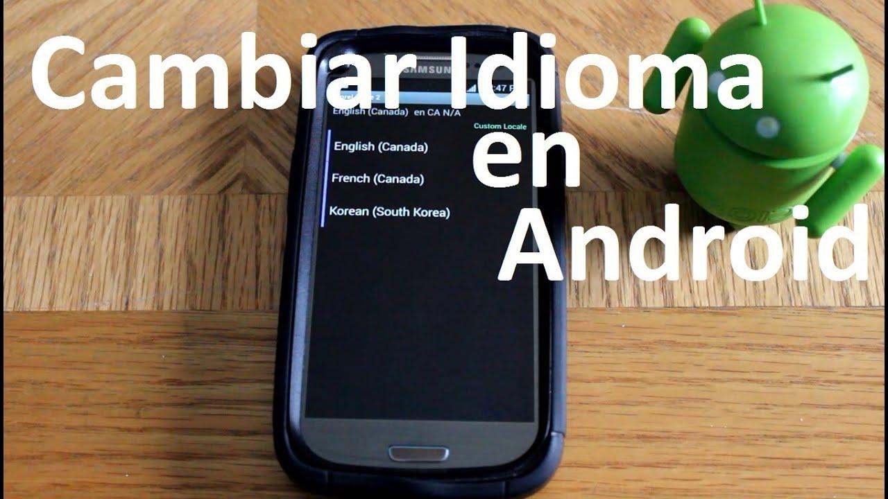 Tutorial Cambia el idioma de tu Android MoreLocale 2