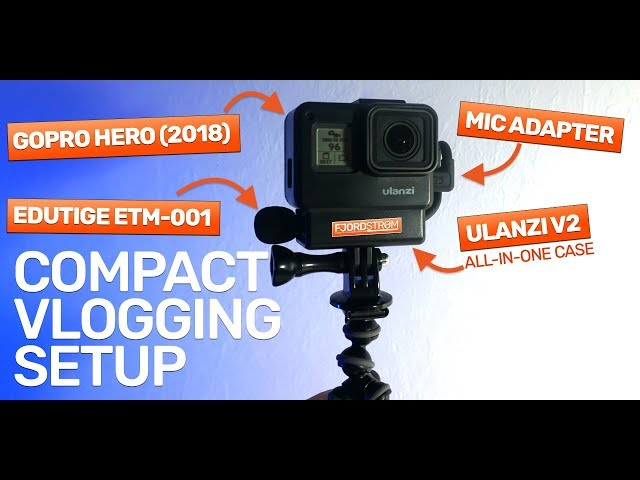 ULTIMATE VLOG SETUP: GoPro + Edutige mic + Ulanzi all-in-one case