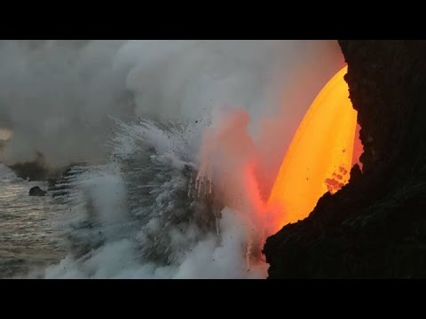 MOTHER NATURE'S FIERY TOUCH:  USGS video of the current lava flow from Hawaii's Kilauea Volcano