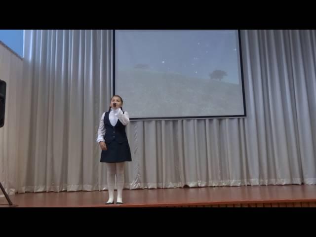 Дарья Овсянникова читает произведение «Гаснет вечер...» (Бунин Иван Алексеевич)