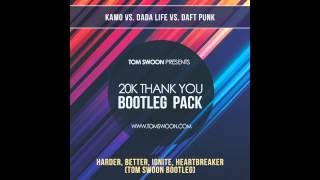 Download Kamo vs. Dada Life vs. Daft Punk - Harder, Better, Ignite, Heartbreaker (Tom Swoon Bootleg) MP3 song and Music Video