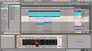 Using Ableton built-in Analog Instrument How to Video Tutorial
