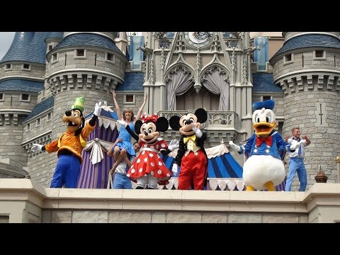 Walt Disney World + IOA - 5 parks in 25 mins (in HD)