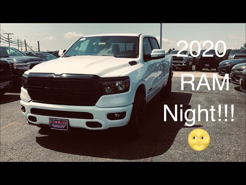 2020 RAM 1500 Big Horn - Night Edition 😴😴😴! Nicely Equipped Too!!!
