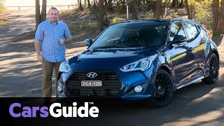 Hyundai Veloster Street Turbo 2016 review | first drive video(Malcolm Flynn road tests and reviews the Hyundai Veloster Street Turbo with specs, fuel consumption and verdict at its Australian launch. Find more at the ..., 2016-12-05T00:11:53.000Z)