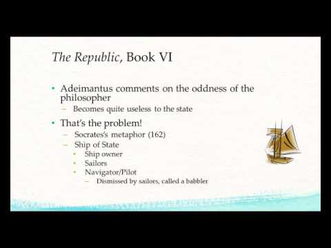 Plato's Republic, Book 6