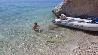 Kroatien Urlaub viamare 380 Johnson 15ps