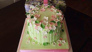видео торт на день рождения