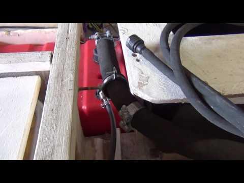 Аэратор, топливная система, подпалубное устройство моего катера Scandic 430